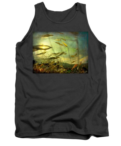 Nature #12. Strong Wind Tank Top by Alfredo Gonzalez