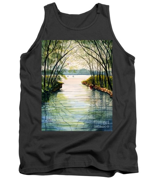 Nature's Cathedral Tank Top by Marilyn Smith