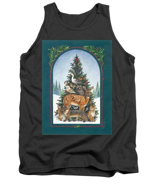 Nature's Christmas Tree Tank Top