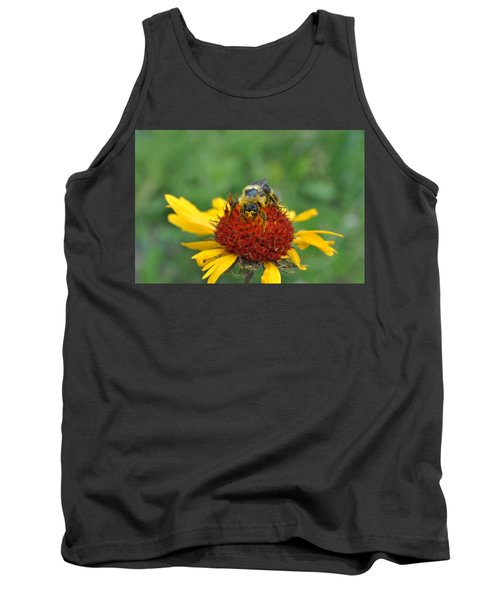 Need More Pollen Tank Top by Jim Hogg