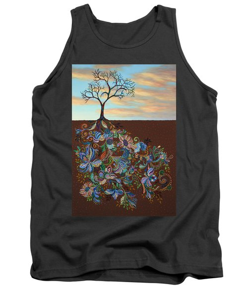 Neither Praise Nor Disgrace Tank Top by James W Johnson