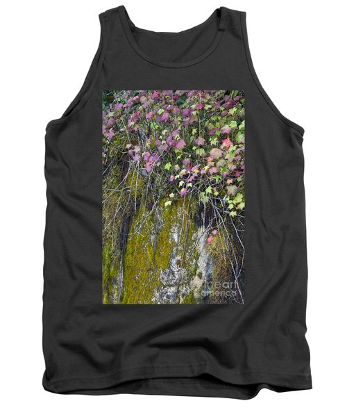 Neon Leaves No 2 Tank Top