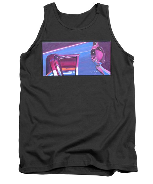 Neon Reflections IIi Tank Top by Karin Thue