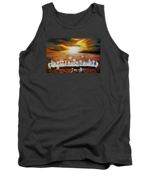 Never Ending Last Supper Tank Top by Raymond Perez