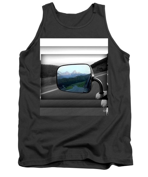 Looking Back Tank Top by Janice Westerberg