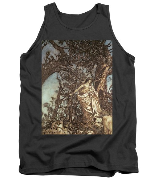 Never So Weary Never So Woeful Illustration To A Midsummer Night S Dream Tank Top
