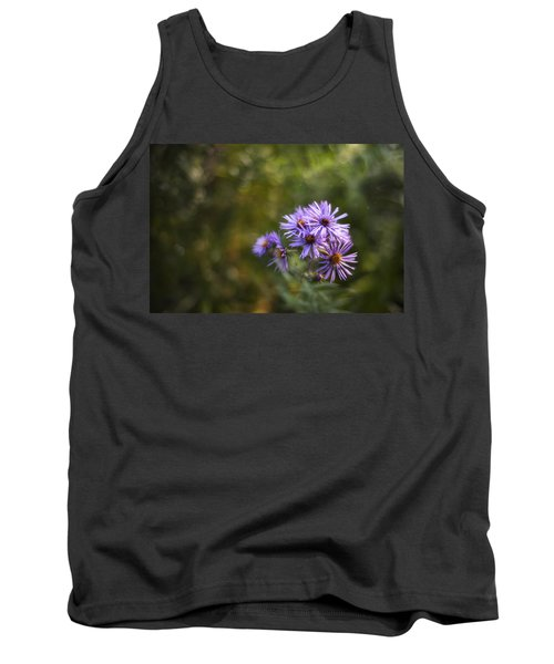 New England Asters Tank Top