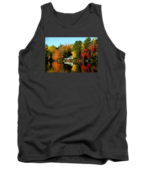New England Tank Top by Bill Howard