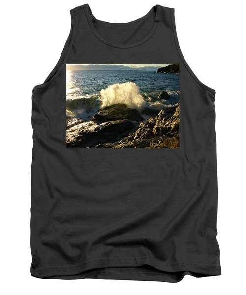 Tank Top featuring the photograph New Heights by James Peterson
