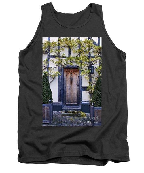 New Photographic Art Print For Sale Doorway 2 In Medieval Lavenham Tank Top