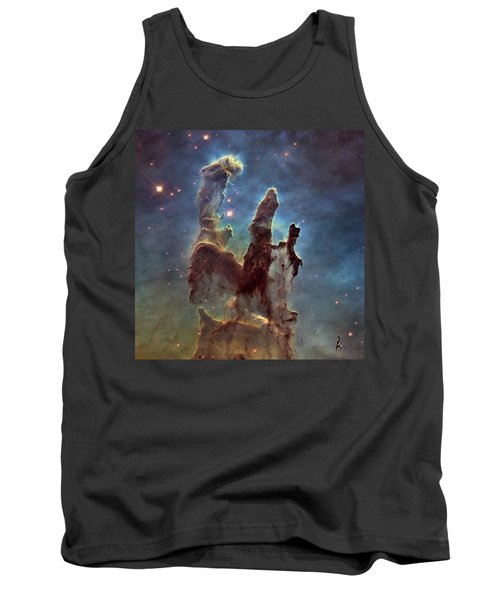 New Pillars Of Creation Hd Square Tank Top