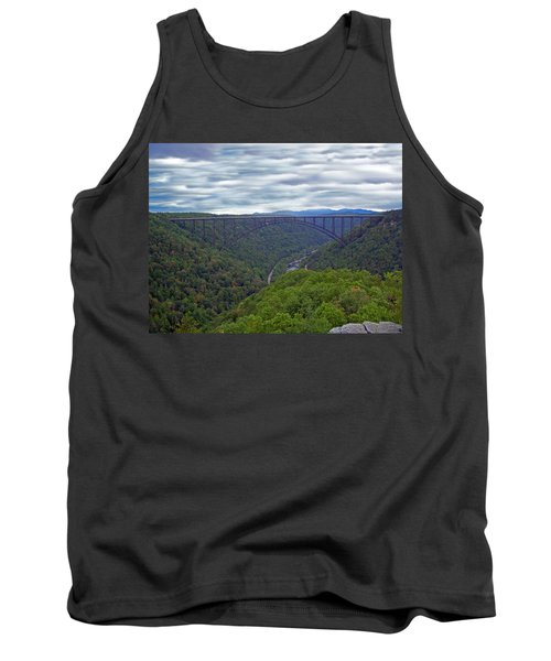 New River Bridge Tank Top by Aimee L Maher Photography and Art Visit ALMGallerydotcom