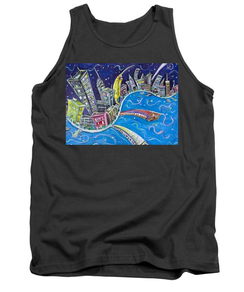 New York City Nights Tank Top by Jason Gluskin