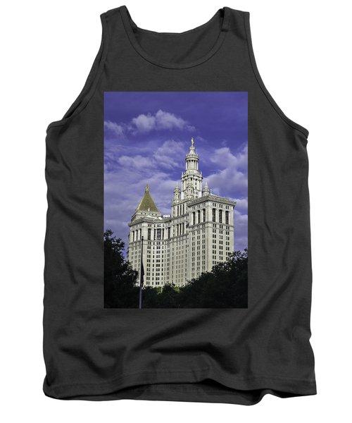 New York Municipal Building Tank Top