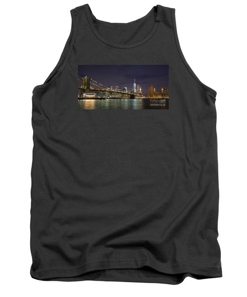 Tank Top featuring the photograph New York Nights by Keith Kapple