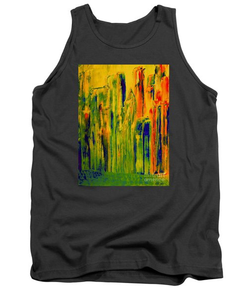 New York On A Hot June Morning Tank Top