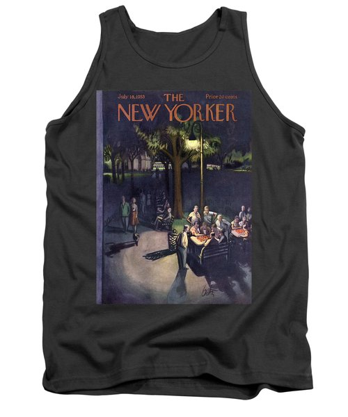 New Yorker July 18th, 1953 Tank Top