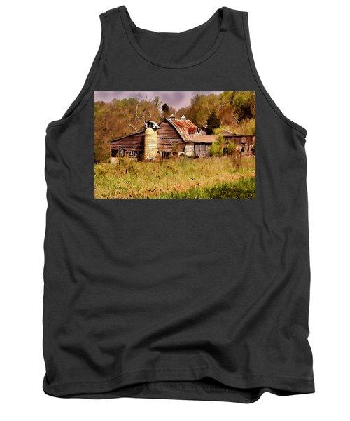 Newton Township Barn Tank Top