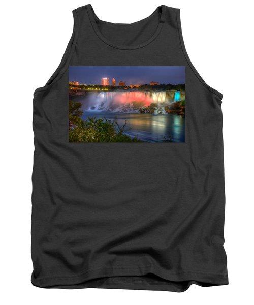 Niagara Falls Canada Sunset  Tank Top