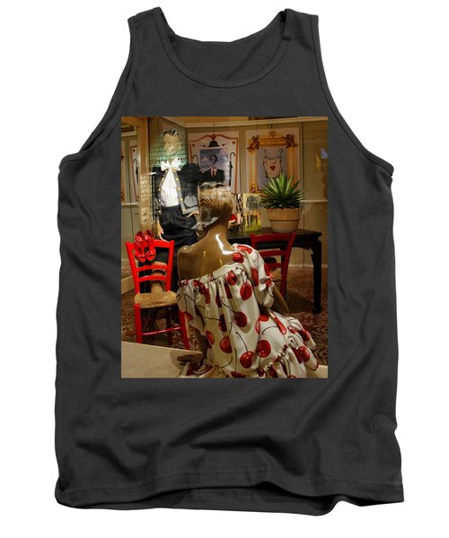 Tank Top featuring the photograph Cherry Bomb by Natalie Ortiz