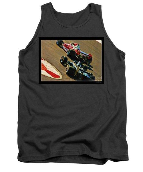 Niki Lauda Leads Mario Andretti Tank Top