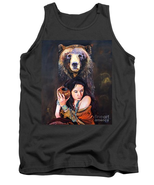 Nine Stars Woman - Bear Medicine Tank Top