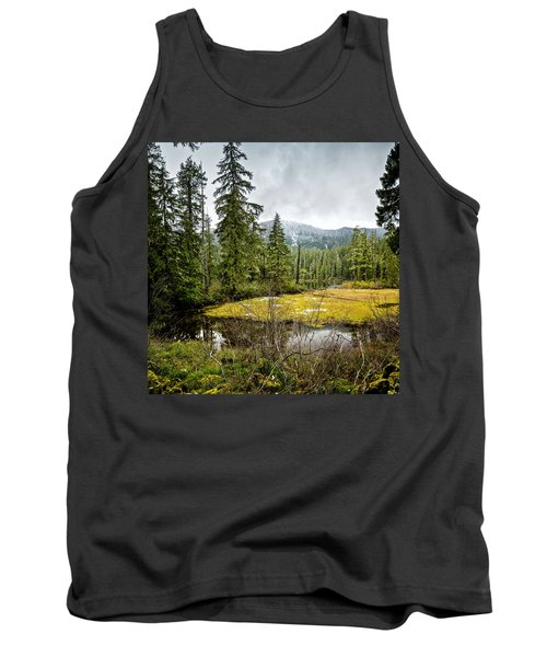 Tank Top featuring the photograph No Man's Land by Belinda Greb
