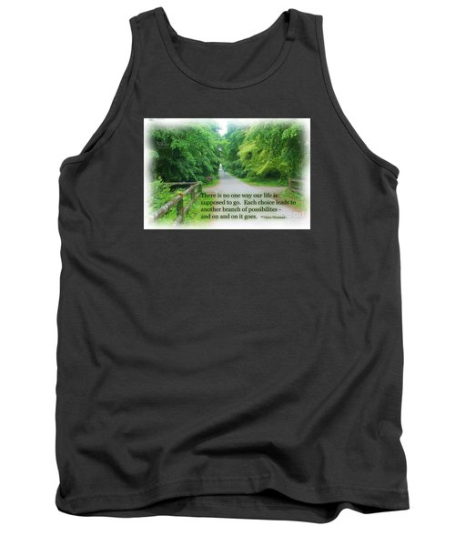 No One Way Tank Top