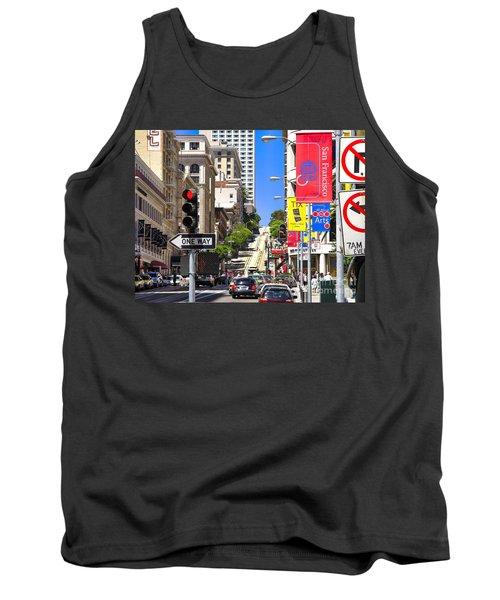 Nob Hill - San Francisco Tank Top