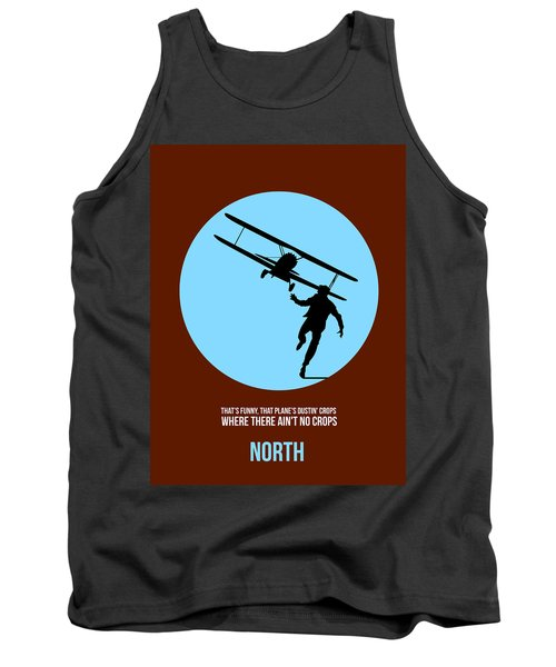 North By Northwest Poster 2 Tank Top