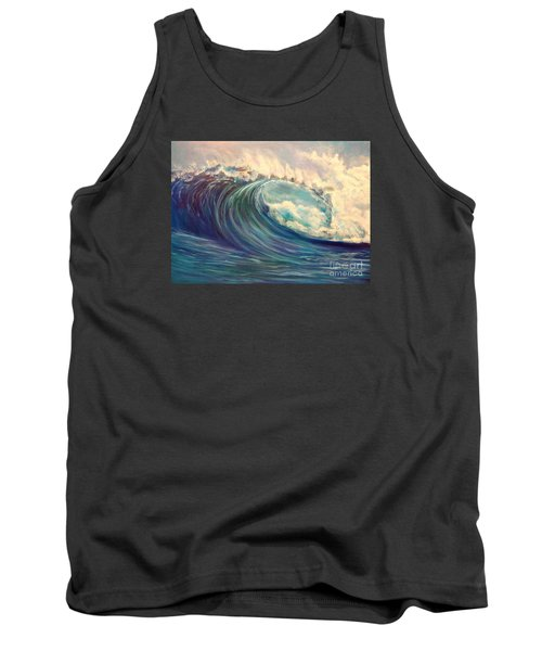 Tank Top featuring the painting North Whore Wave by Jenny Lee