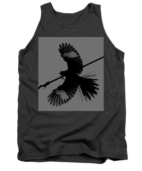 Tank Top featuring the photograph Northern Mockingbird by Leticia Latocki