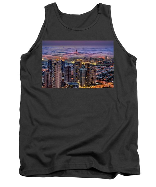 Tank Top featuring the photograph Not Hong Kong by Ron Shoshani