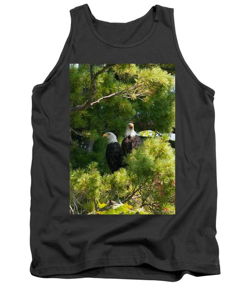 Tank Top featuring the photograph Not Listening by Brenda Jacobs