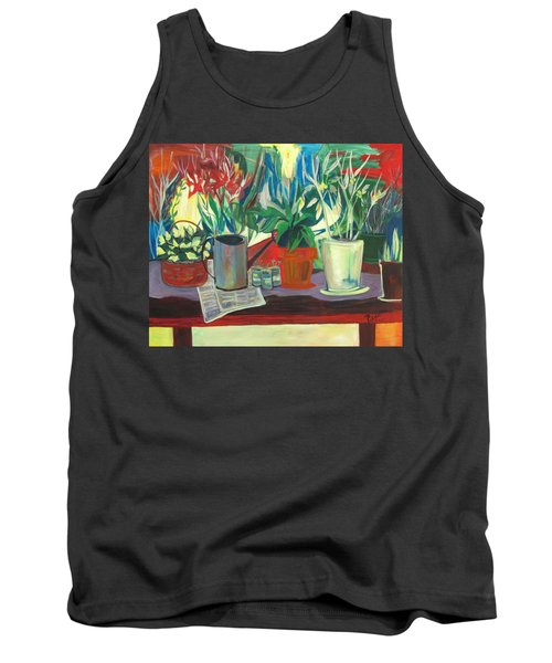 Not Your Grandpa's Potting Stand Tank Top