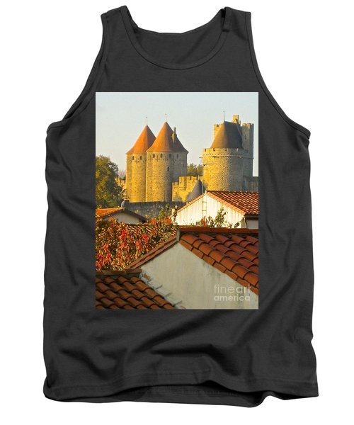Tank Top featuring the photograph Now And Then by Suzanne Oesterling