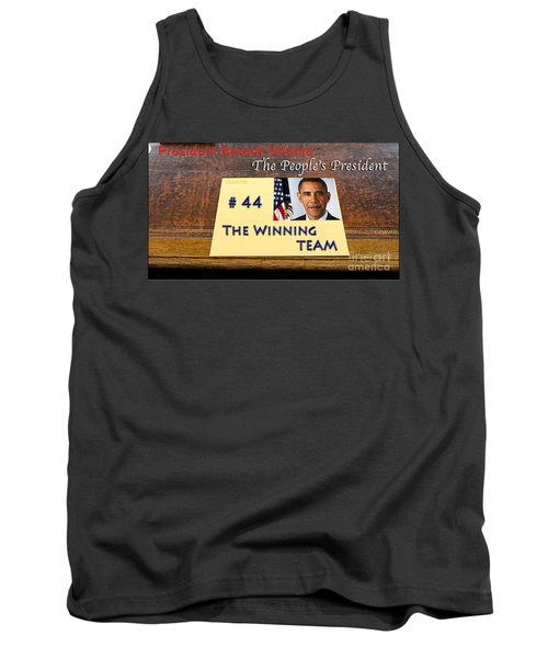 Number 44 - The Winning Team Tank Top