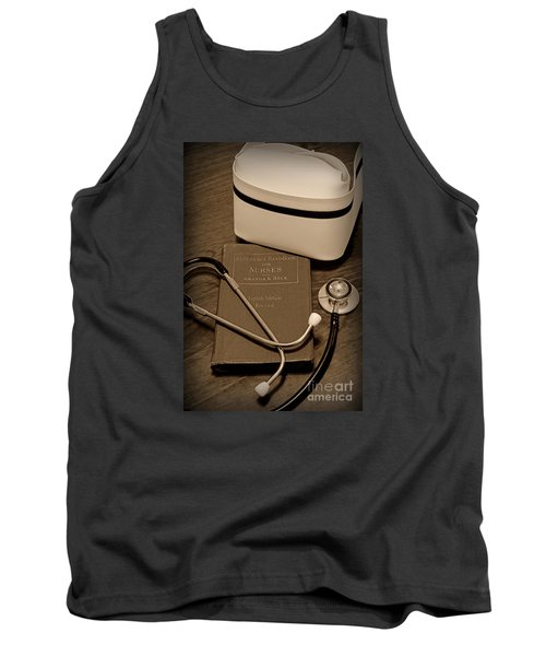 Nurse - The Care Giver Tank Top by Paul Ward