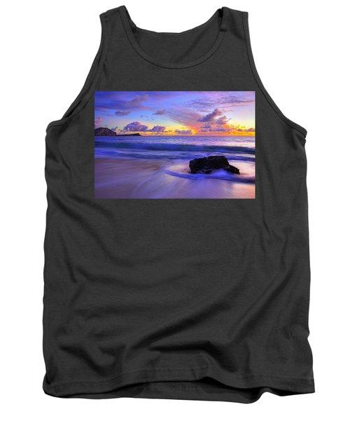 Oahu Sunrise Tank Top by Dustin  LeFevre