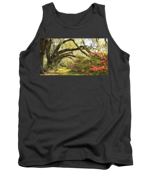 Oaks And Azaleas Tank Top
