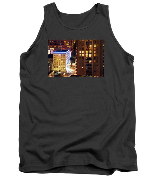 Tank Top featuring the photograph Observation - Man In Window Dclxxxi by Amyn Nasser
