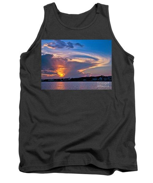 Ocean Isle Sunset Tank Top