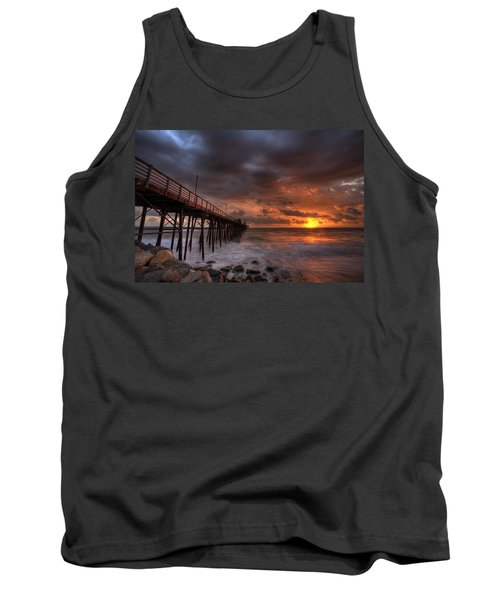 Oceanside Pier Perfect Sunset Tank Top