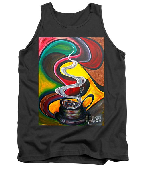 Ode To Coffee... Tank Top
