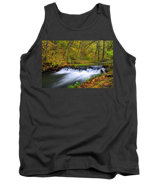 Off The Beaten Path Tank Top by Bonfire Photography