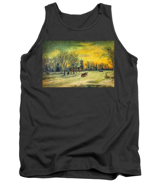 Off To Church - Christmas Eve Services Tank Top
