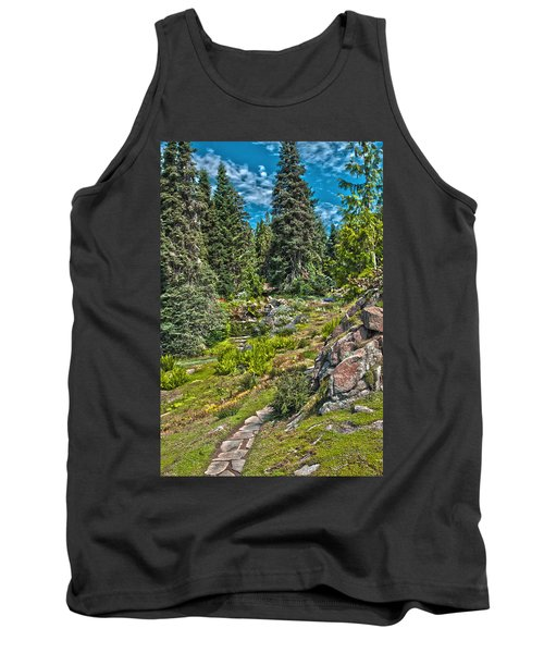 Ohme Gardens Tank Top by Sonya Lang