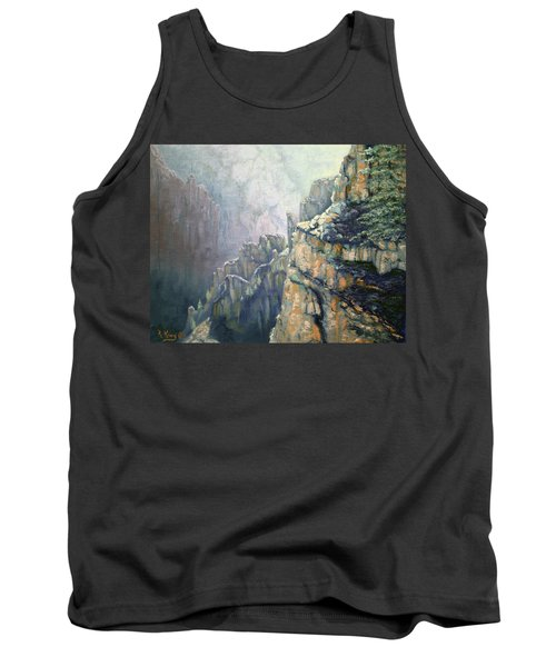 Oil Painting - Majestic Canyon Tank Top