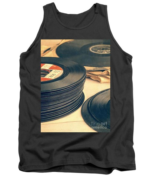 Old 45s Tank Top