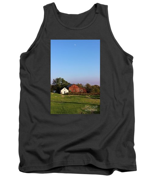 Old Barn At Sunset Tank Top